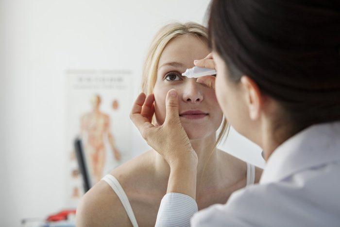 Ophthalmology, Woman