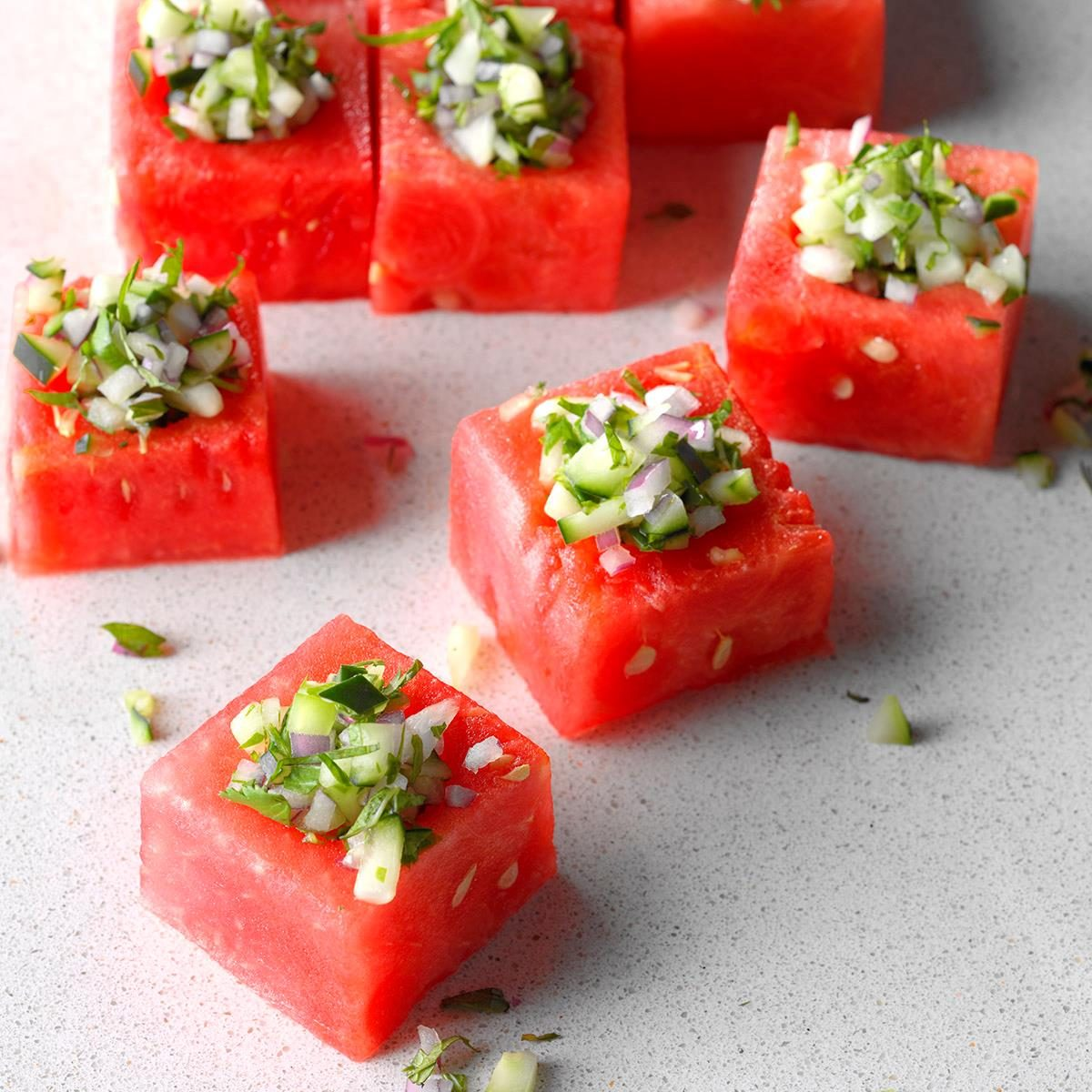 fridge-friendly recipes | watermelon cups