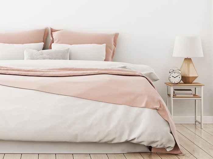 toxic bedroom items | pretty pink bedroom