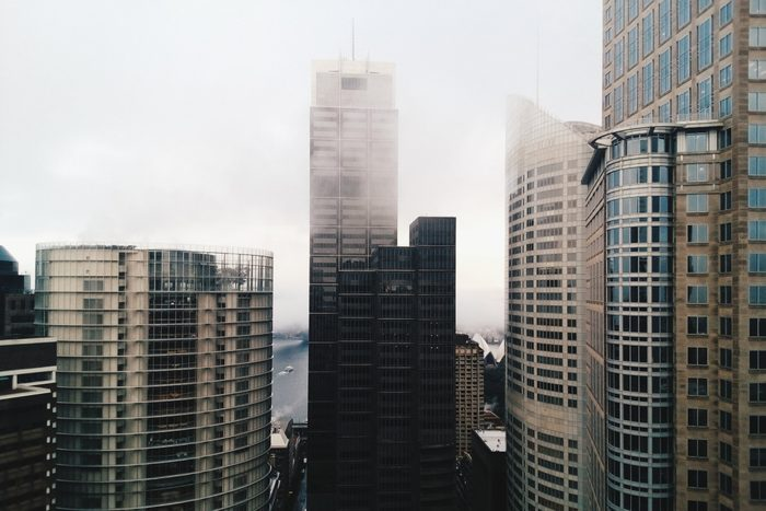 what causes grey hair | view of city buildings