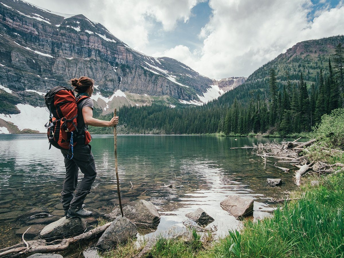 Best hikes in Canada - Wall Lake in Alberta