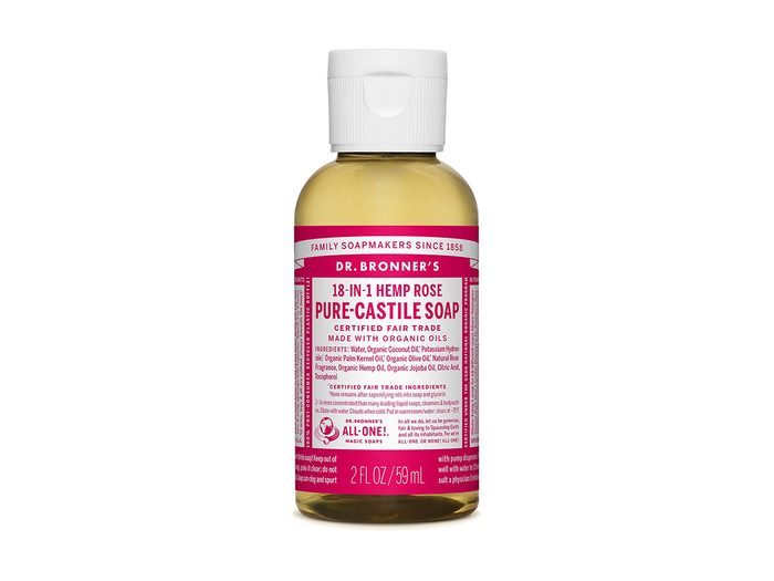 hand-care toolkit   hand soap   Dr. Bronner's