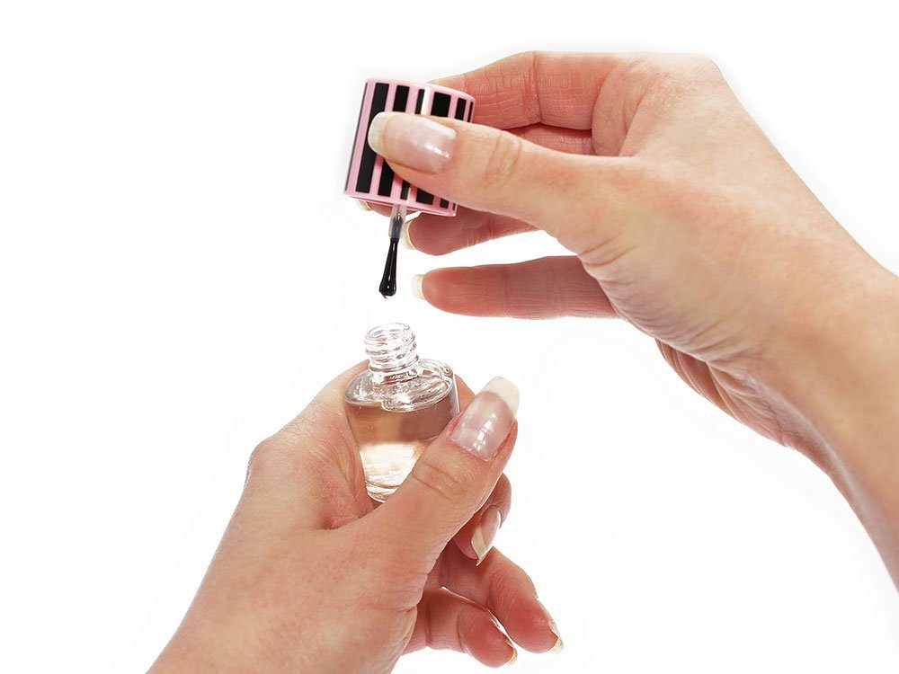 More uses for clear nail polish