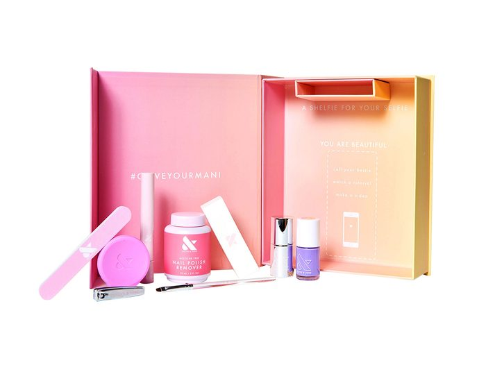 hand-care toolkit   manicure nail kit   olive and june