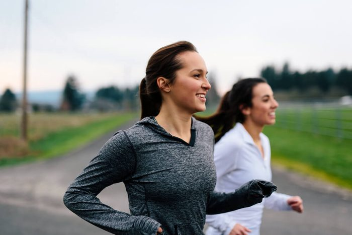 reach your goal weight   Running Women Jogging in Country