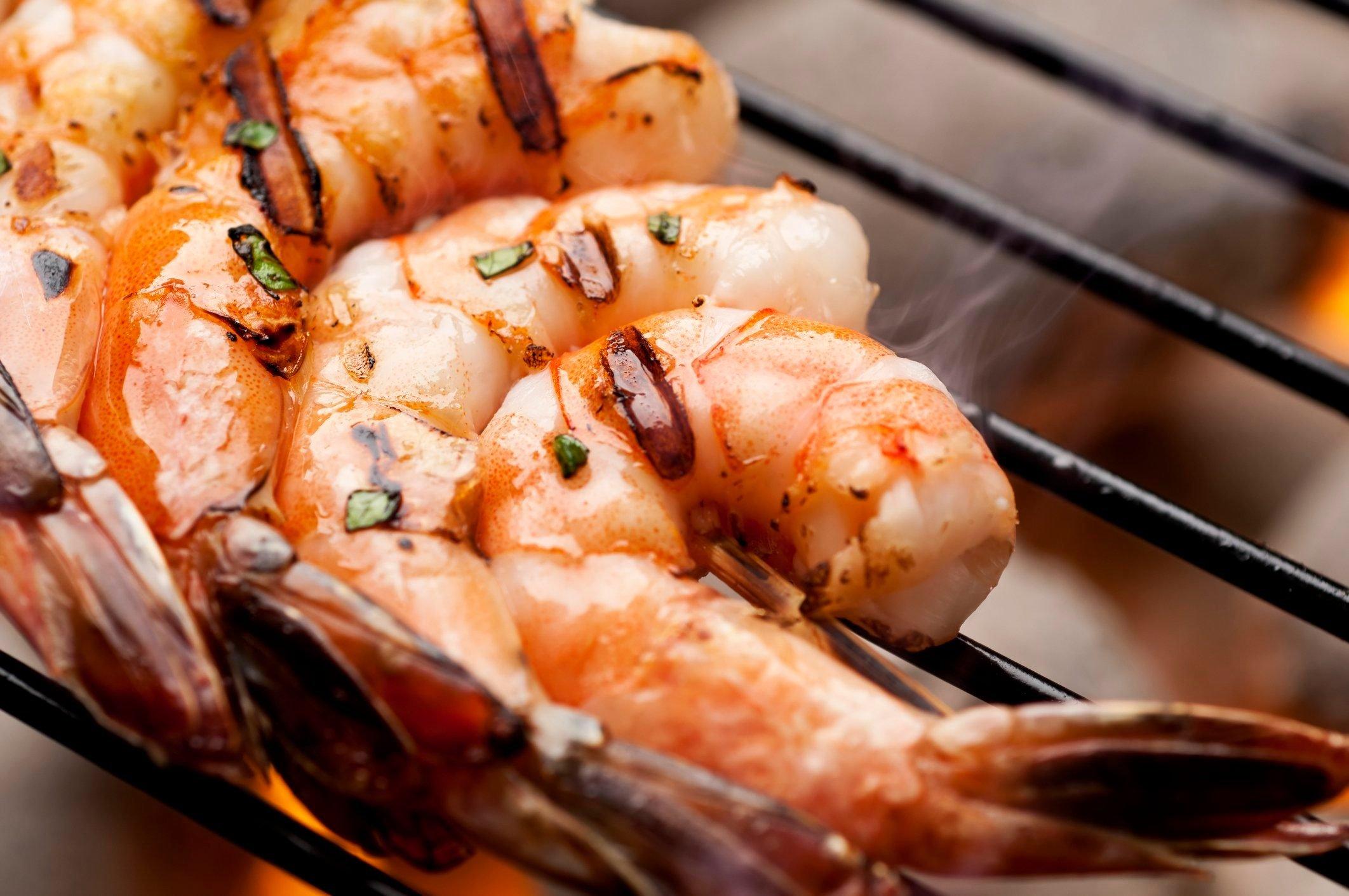 healthier grilling ideas | Grilled Shrimp