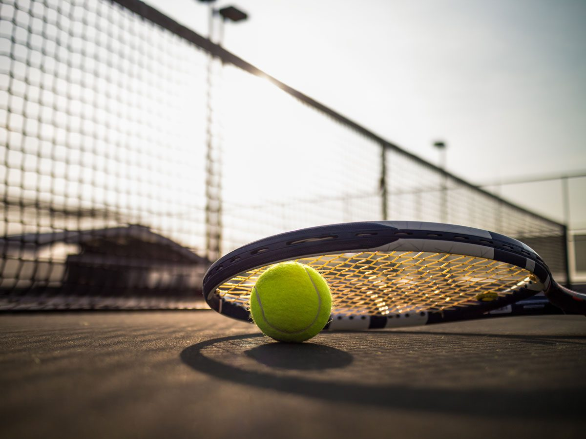 social distancing sports | tennis