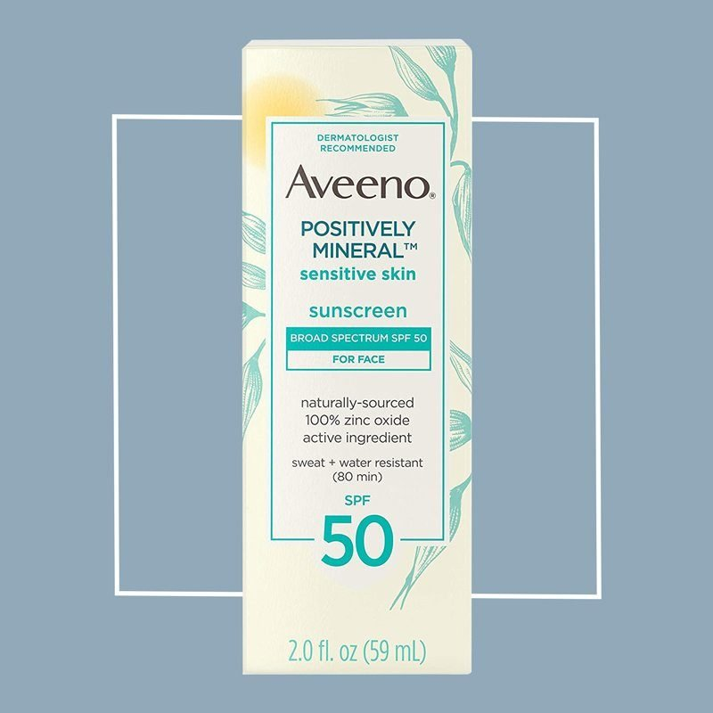 aveeno positively mineral sunscreen