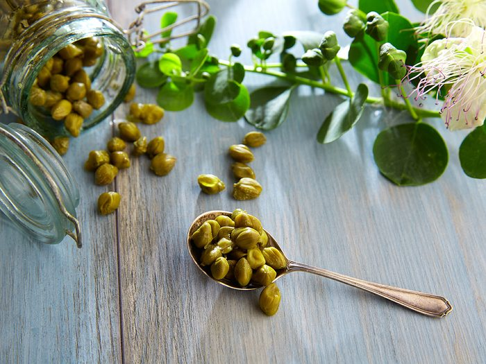 pickled capers | diet changes for brain benefits | brain health nutrition