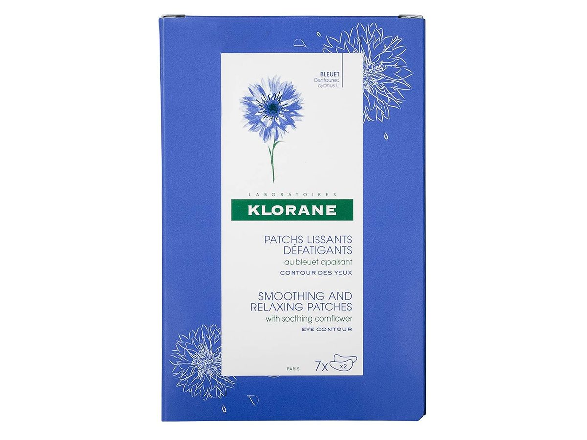 klorane eye patches | treat and prevent fine lines around eyes