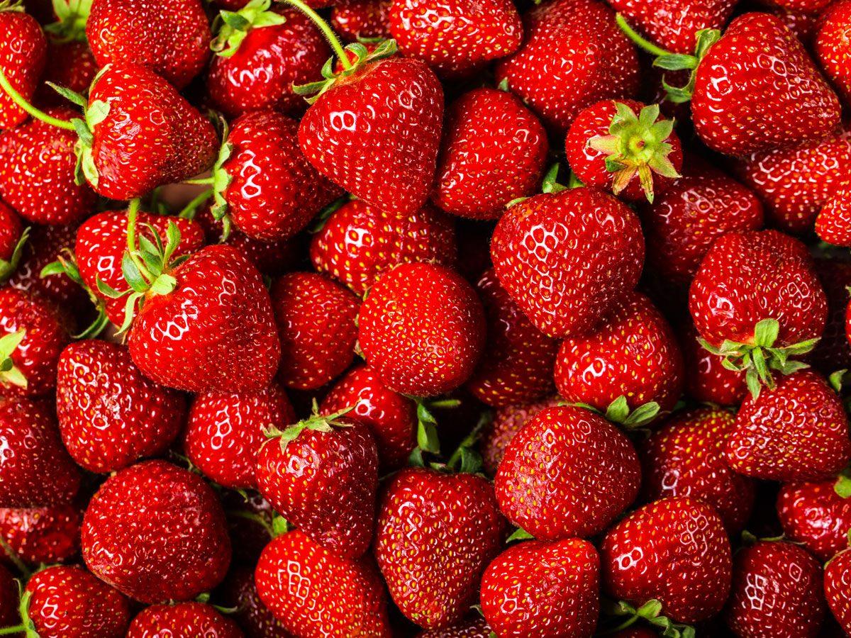 mushy strawberries