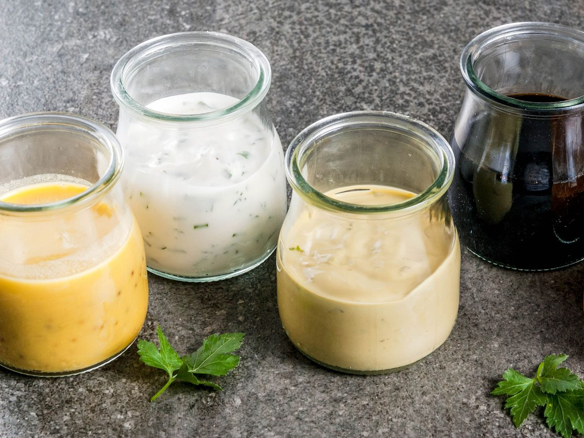 prepared meals nutritionists avoid   salad dressing