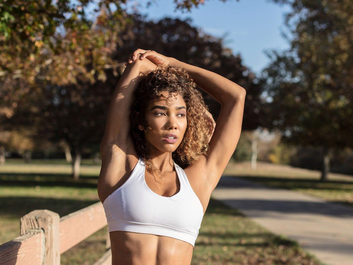 perfect sports bra