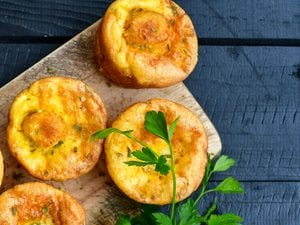 Breakfast Boost: Muffin-Sized Sweet Potato Frittatas
