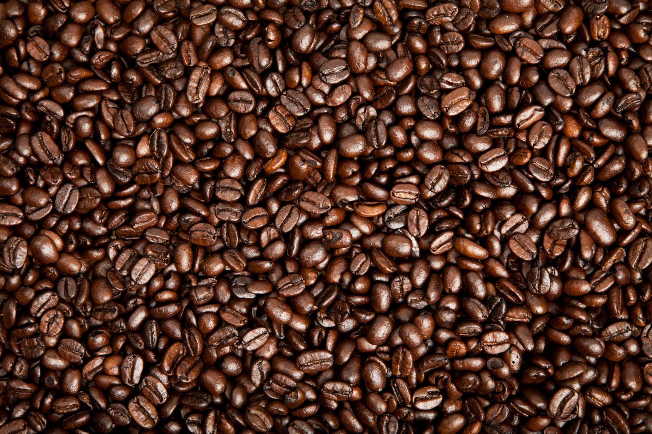 coffee beans full frame