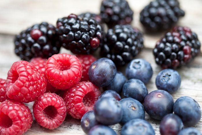 diabetic breakfast | Fresh berries