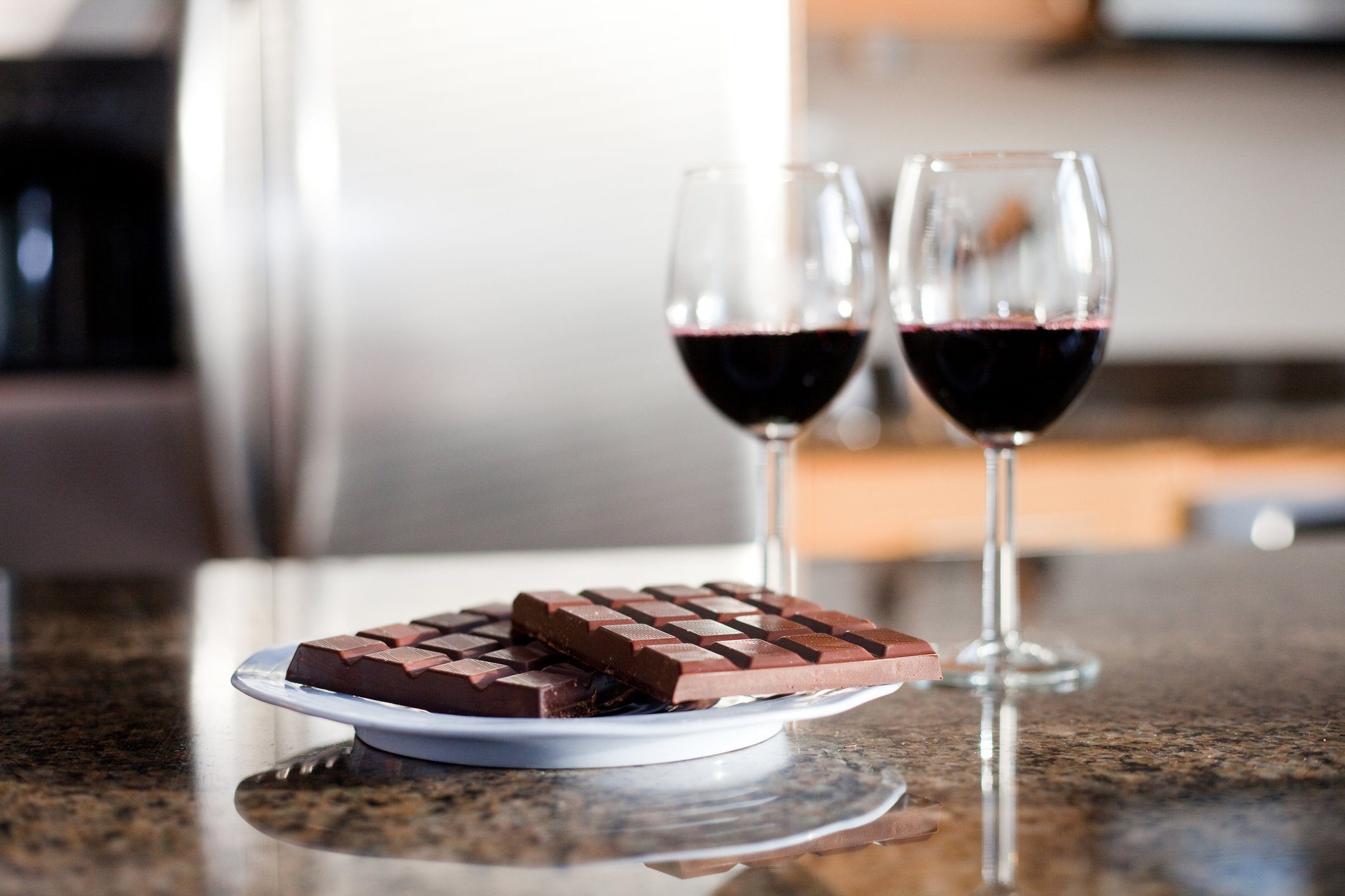 mediterranean diet | wine and chocolate