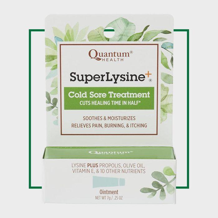 how to get rid of cold sores | Quantum Health Super Lysine+ Cold Sore Treatment