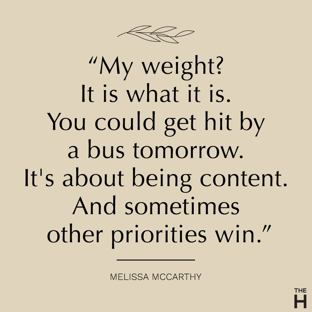 Melissa McCarthy | body-positive quotes