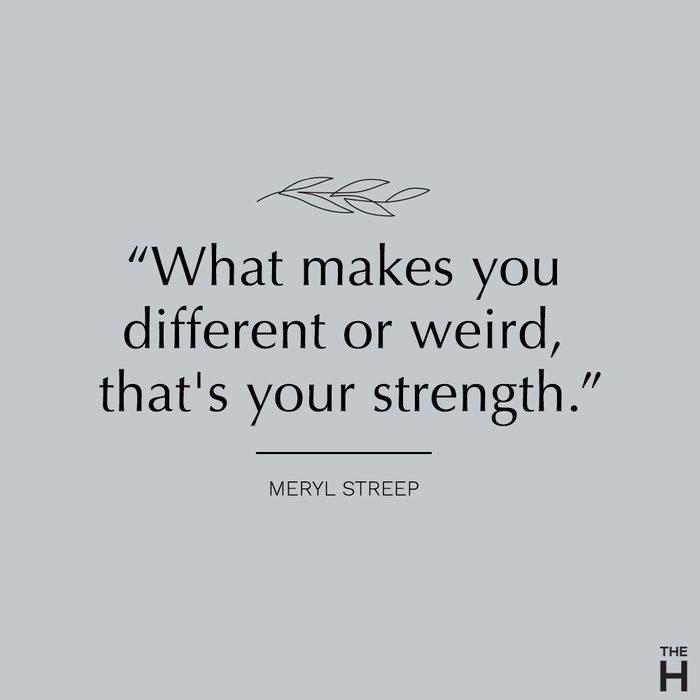 meryl streep | body-positive quotes