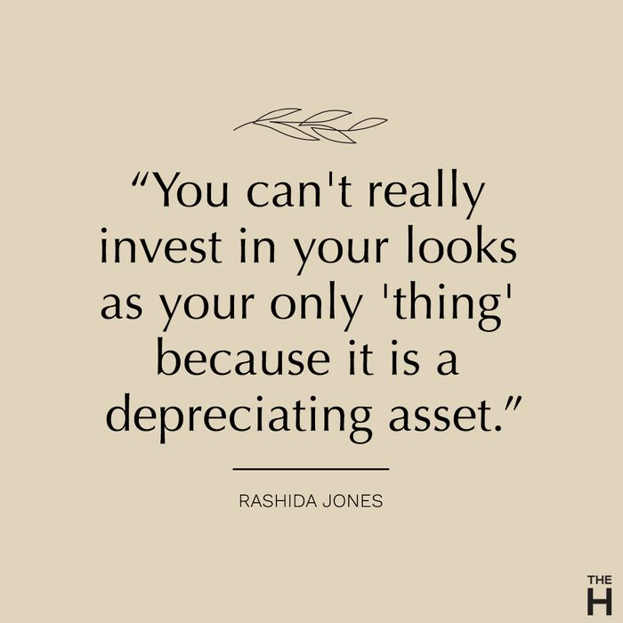 rashida jones | body-positive quotes