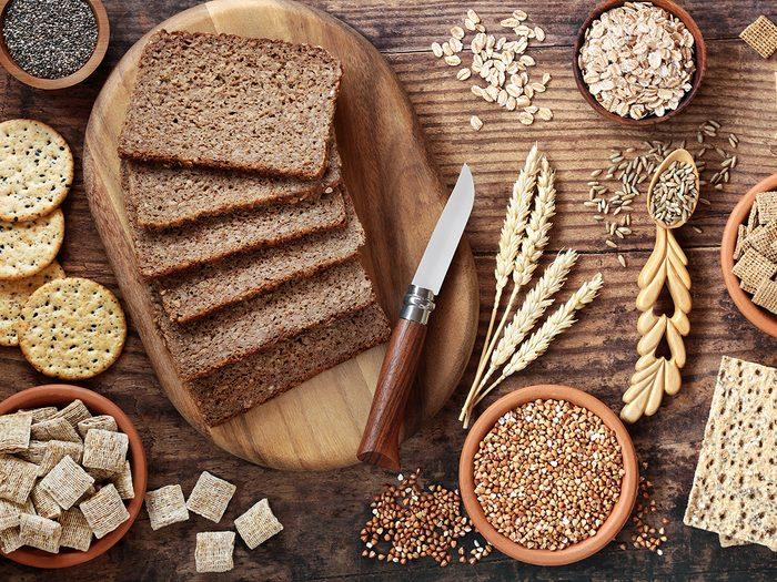 whole grains | reduce risk colorectal cancer