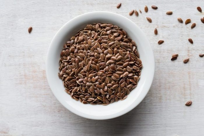 flaxseeds   bowl of flaxseeds   nutrition risks