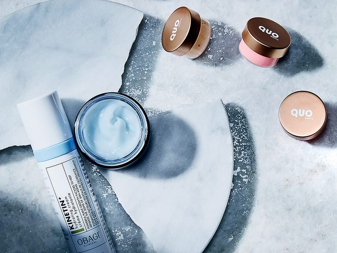 winter skincare   shot of three winter skincare products for your face