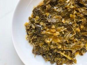 The Vegan Braised Greens Recipe This Nutritionist Loves