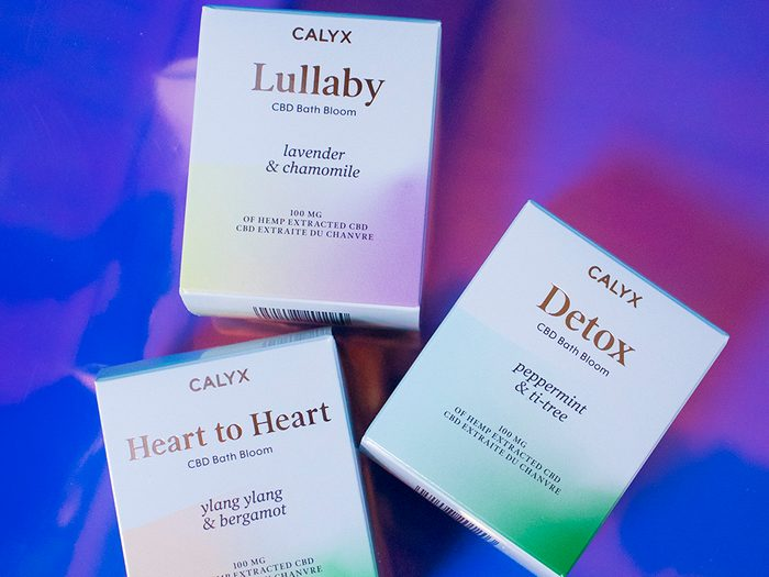 Calyx CBD bath bombs | wellness gifts | best health gift guide