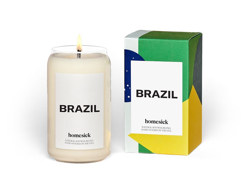 Homesick candle | wellness gifts | best health gift guide