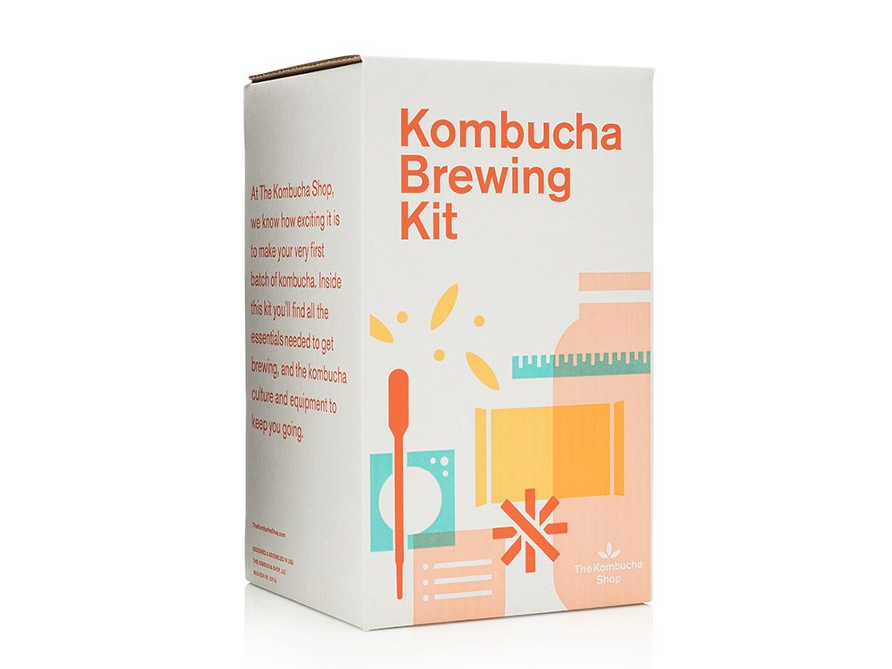 Komucha Brewing Kit | wellness gifts | best health gift guide