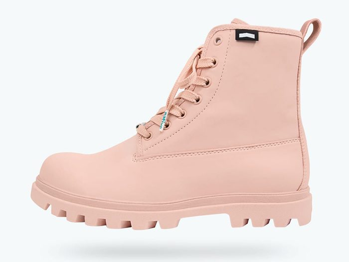 native shoes pink hiking boots | wellness gifts | best health gift guide