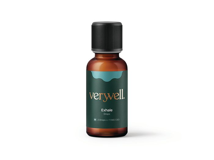 CBD drops Verwell exhale | wellness gifts | best health gift guide