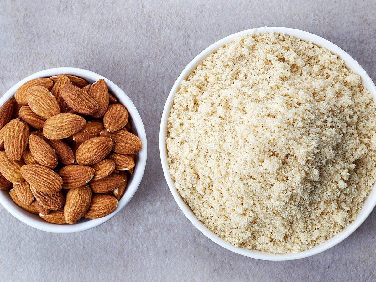 almond flour and almonds