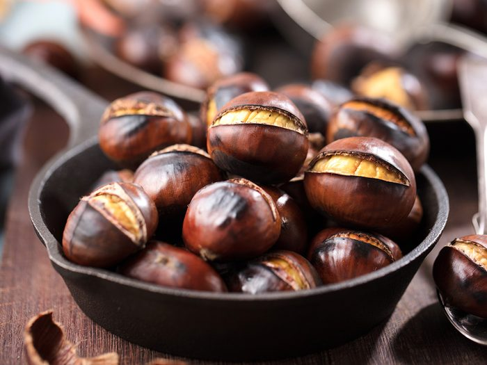 roasted chestnuts | health benefits of chestnuts