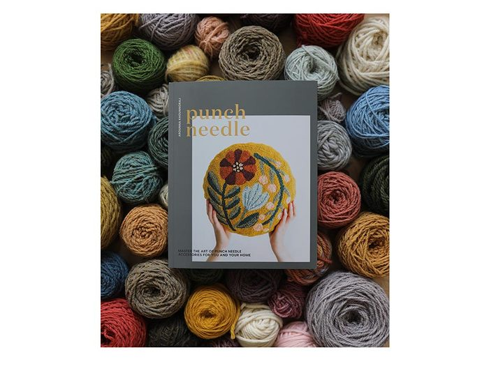 Punch Needle book| wellness gifts | best health gift guide