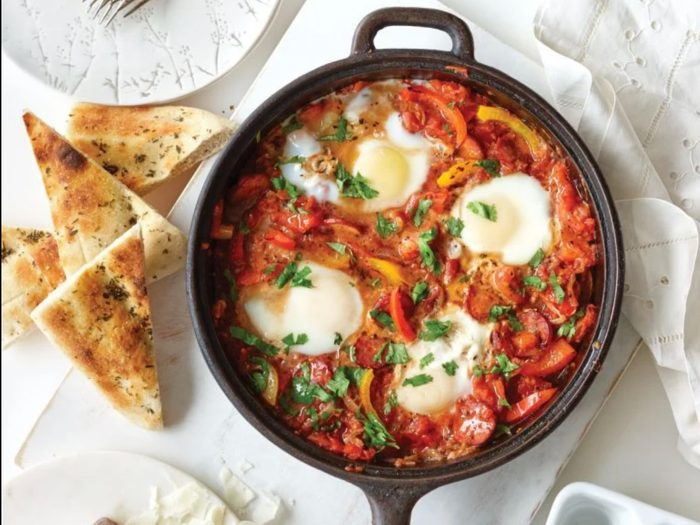Spanish-style eggs | egg recipes