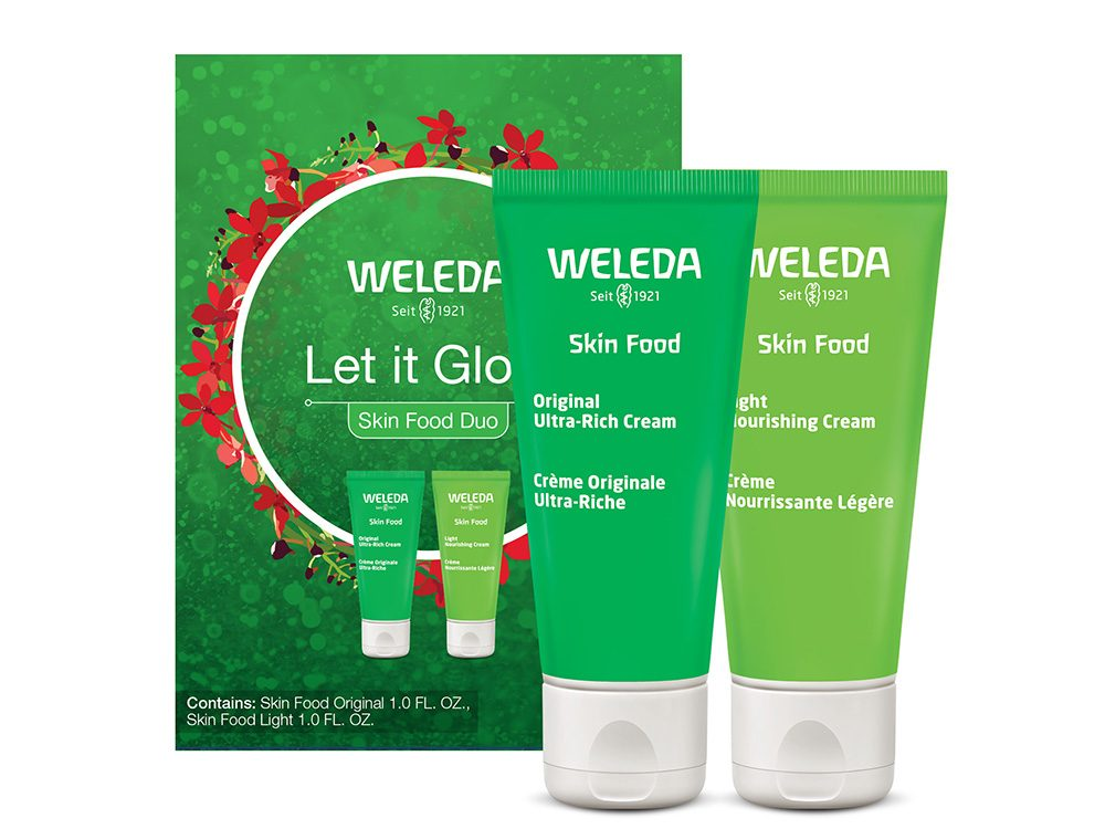 Weleda let It Glow hand cream | wellness gifts | best health gift guide