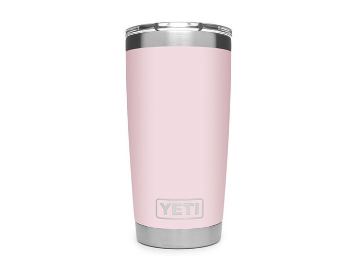 Yeti ice pink tumbler | wellness gifts | best health gift guide