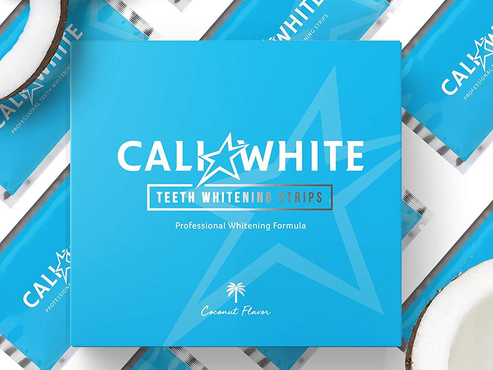 best toiletry items | cali white whitening strips
