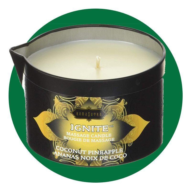 Ignite Kama Sutra Massage Candle
