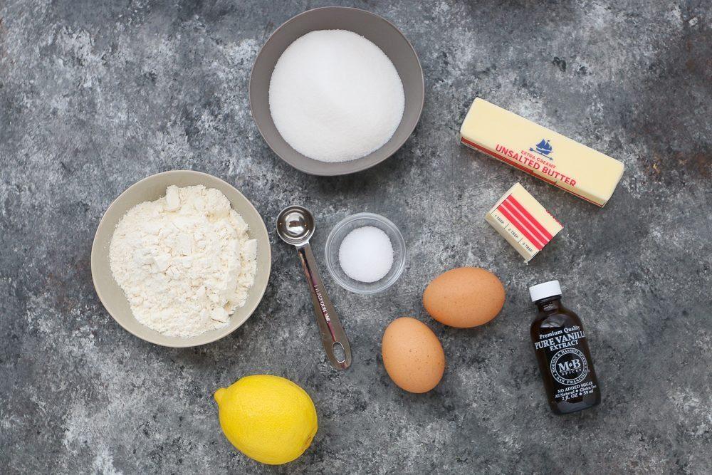 Ingredients Overhead