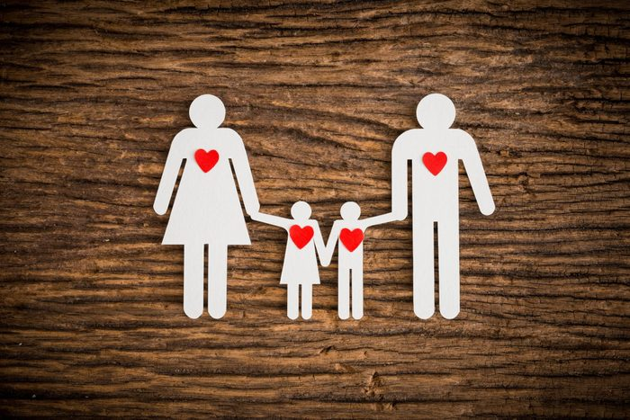 is heart disease genetic | Family Made With Paper On Wood