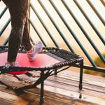 I Tried a Rebounder Trampoline for At-Home Workouts and Here's What It's Like