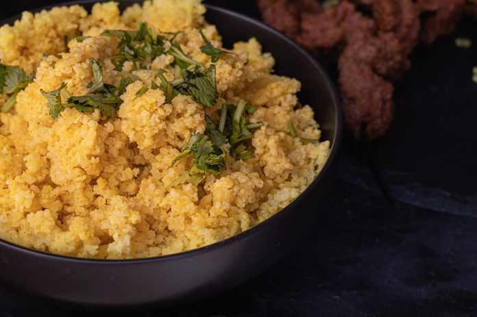 what is millet | image of Cooked Millet
