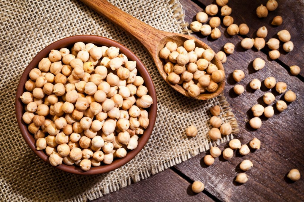 chickpea nutrition facts | Chickpeas In A Bowl