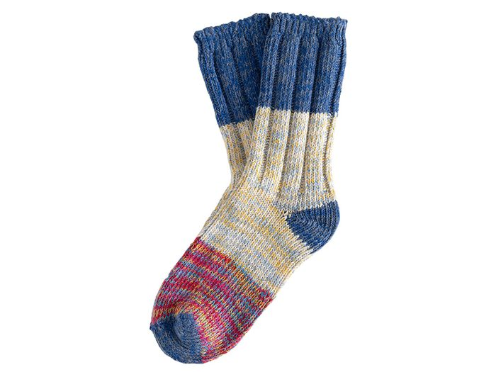 Self-Love Nordstrom Pop-Up | Thunders Love Blue Love Socks 34