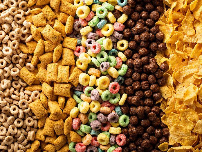 healthy cereals in canada