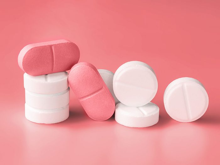hormone therapy   pink pills